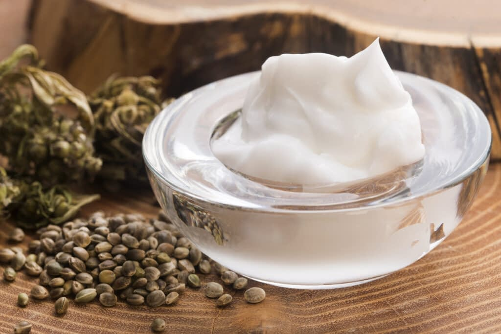 Make your own CBD hemp flower lotion