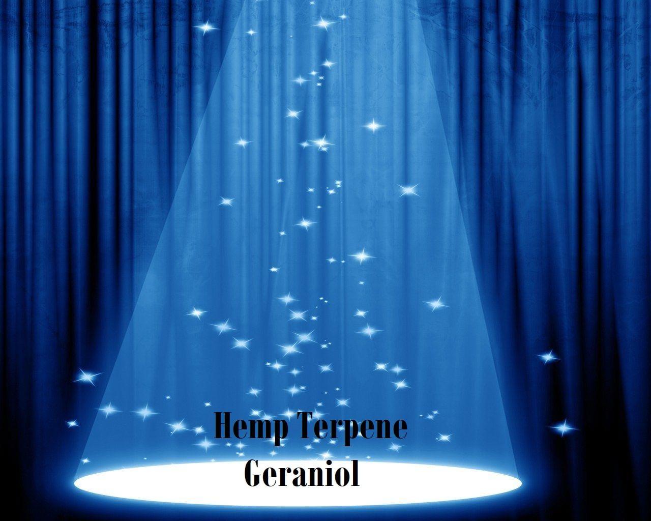 Hemp Terpene Geraniol