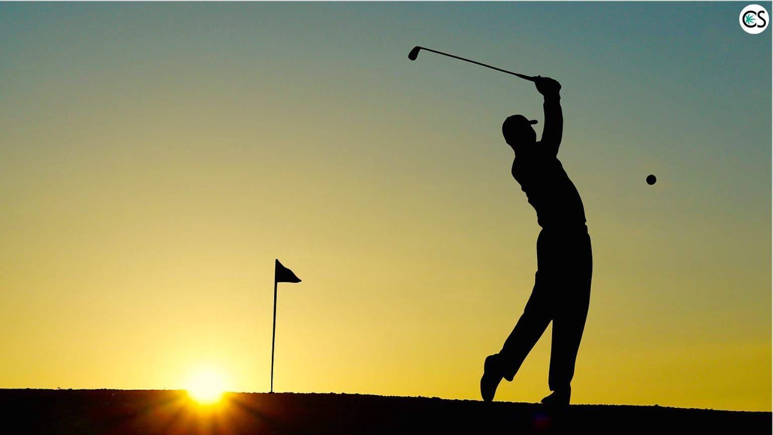 CBD gum and the golfer