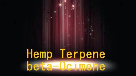 hemp terpene beta-ocimene
