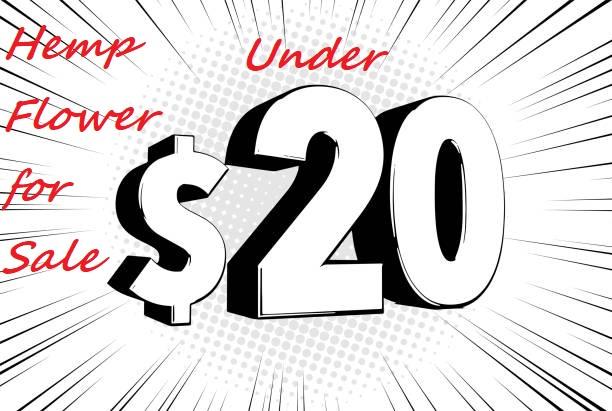 hemp flower & products under $20