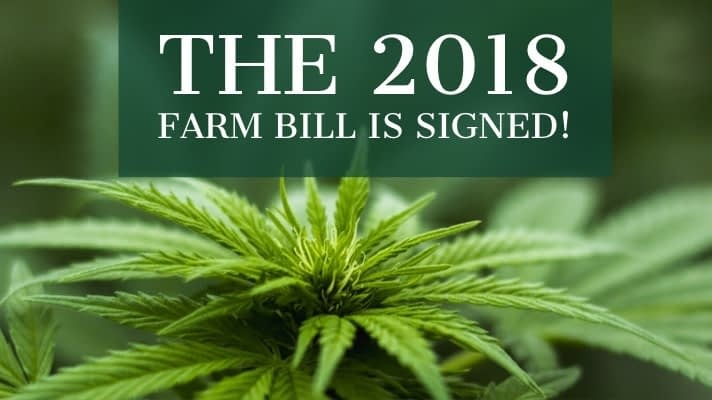 2018 Farm bill changed the hemp community