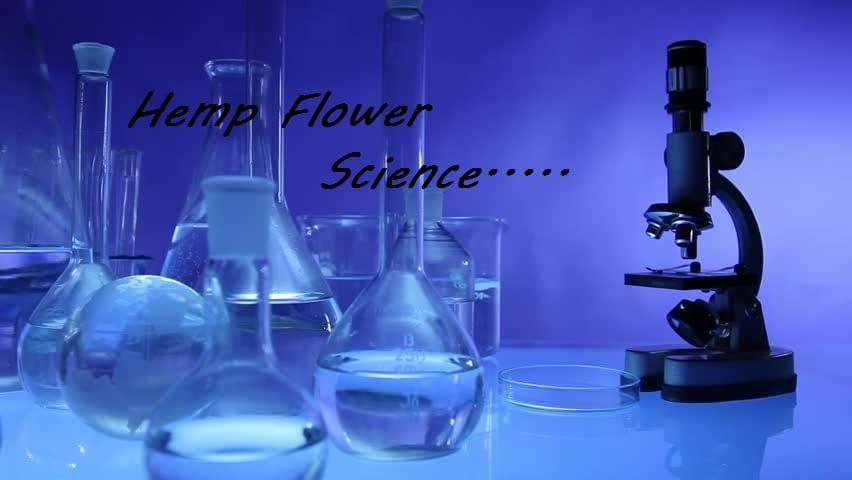 The chemistry in CBD Hemp Flower