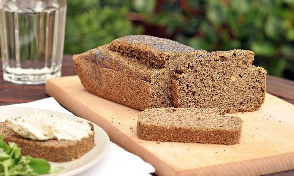 CBD hemp bread
